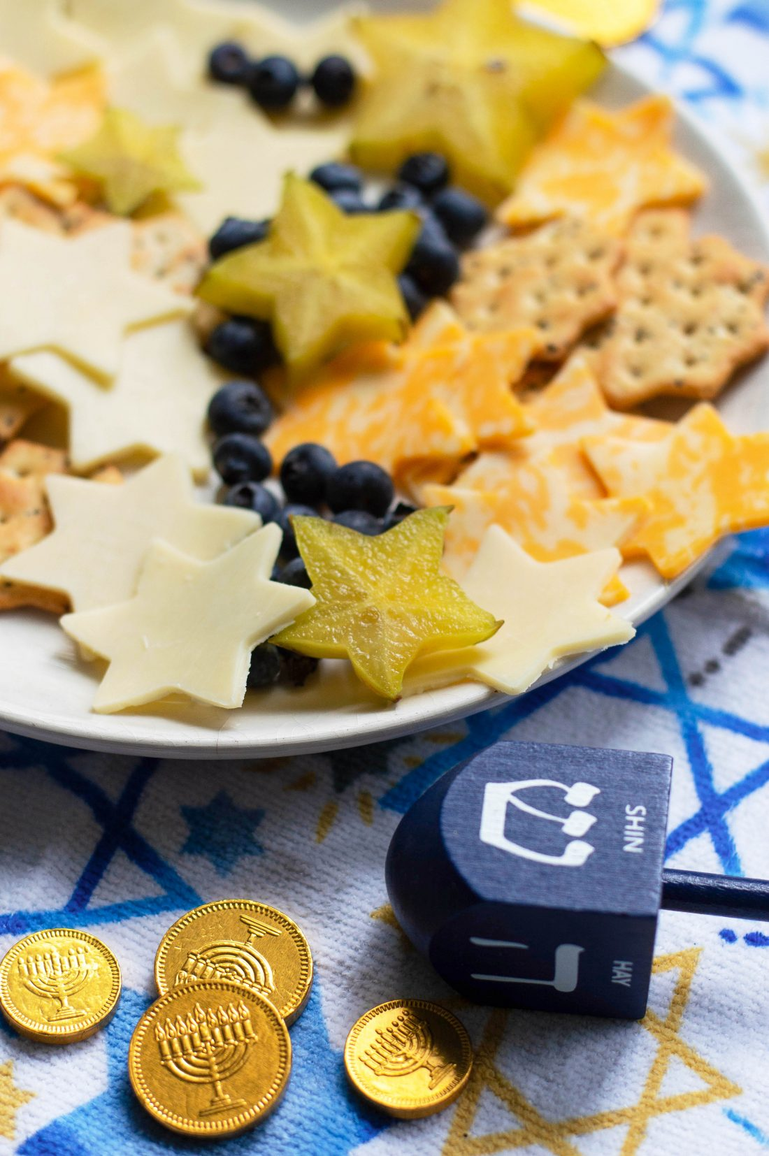 Starry Night Cheese Plate Aurora Satler